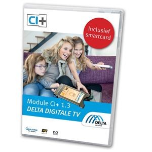 Module CI+1.3 Delta Digitale TV incl. Smartcard
